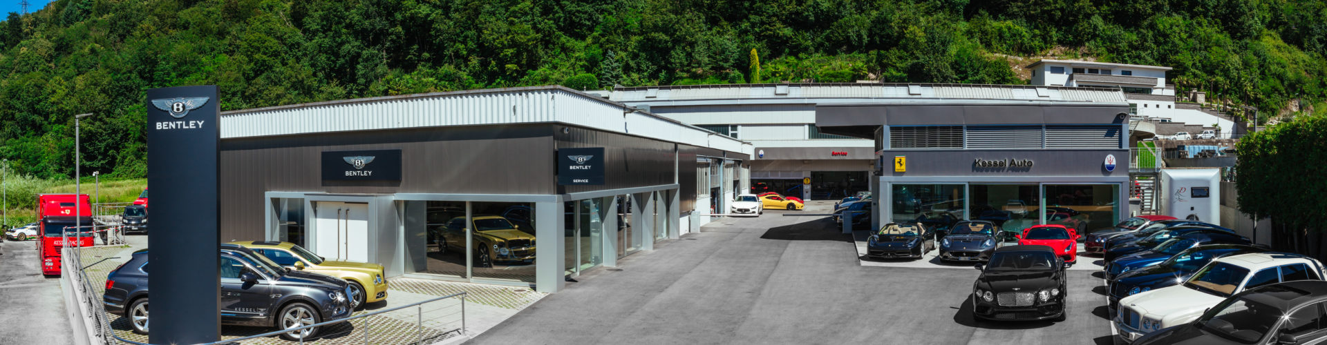 "Bentley Lugano. In Svizzera corre il ""Racing Green""!"